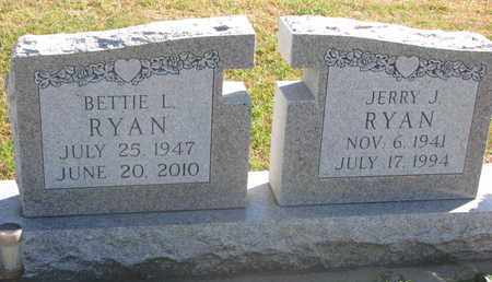 RYAN, BETTIE L. - Union County, South Dakota | BETTIE L. RYAN - South Dakota Gravestone Photos