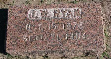 RYAN, J.W. - Union County, South Dakota | J.W. RYAN - South Dakota Gravestone Photos