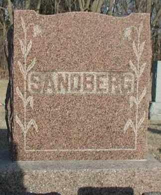 SANDBERG, *PLOT - Union County, South Dakota | *PLOT SANDBERG - South Dakota Gravestone Photos