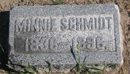 SCHMIDT, MINNIE - Union County, South Dakota | MINNIE SCHMIDT - South Dakota Gravestone Photos