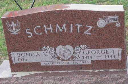 BERTRAND SCHMITZ, BONITA V. - Union County, South Dakota | BONITA V. BERTRAND SCHMITZ - South Dakota Gravestone Photos