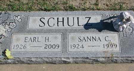 SCHULZ, SANNA C. - Union County, South Dakota   SANNA C. SCHULZ - South Dakota Gravestone Photos