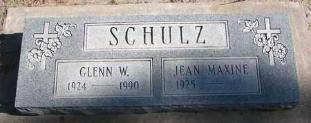 SCHULZ, GLENN W. - Union County, South Dakota   GLENN W. SCHULZ - South Dakota Gravestone Photos