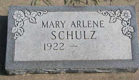 SCHULZ, MARY ARLENE - Union County, South Dakota | MARY ARLENE SCHULZ - South Dakota Gravestone Photos
