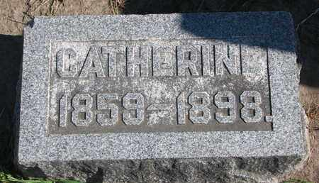SCHUMACHER, CATHERINE - Union County, South Dakota | CATHERINE SCHUMACHER - South Dakota Gravestone Photos