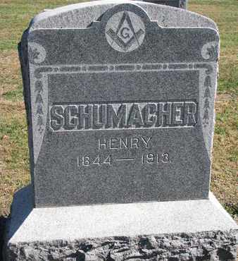 SCHUMACHER, HENRY - Union County, South Dakota | HENRY SCHUMACHER - South Dakota Gravestone Photos
