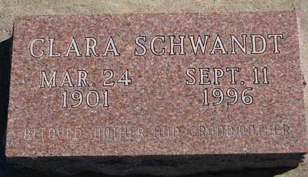 SCHWANDT, CLARA - Union County, South Dakota | CLARA SCHWANDT - South Dakota Gravestone Photos