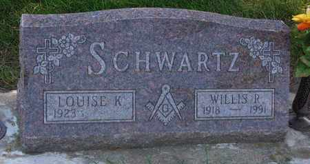 SCHWARTZ, LOUISE K. - Union County, South Dakota | LOUISE K. SCHWARTZ - South Dakota Gravestone Photos