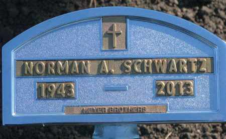 SCHWARTZ, NORMAN A. - Union County, South Dakota | NORMAN A. SCHWARTZ - South Dakota Gravestone Photos