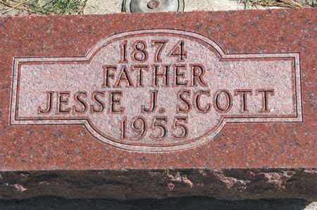 SCOTT, JESSE J. - Union County, South Dakota | JESSE J. SCOTT - South Dakota Gravestone Photos