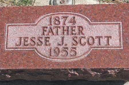 SCOTT, JESSE J. - Union County, South Dakota | JESSE J. SCOTT - South Dakota Gravestone Photos