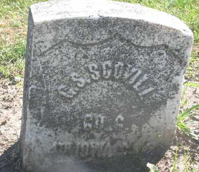 SCOVILL, G.S. (MILITARY) - Union County, South Dakota | G.S. (MILITARY) SCOVILL - South Dakota Gravestone Photos