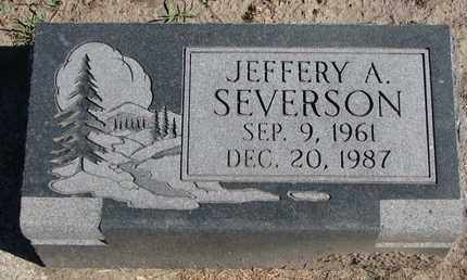 SEVERSON, JEFFERY A. - Union County, South Dakota | JEFFERY A. SEVERSON - South Dakota Gravestone Photos