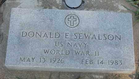 SEWALSON, DONALD E. - Union County, South Dakota | DONALD E. SEWALSON - South Dakota Gravestone Photos