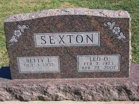 SEXTON, LEO O. - Union County, South Dakota | LEO O. SEXTON - South Dakota Gravestone Photos
