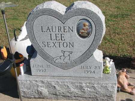 SEXTON, LAUREN LEE - Union County, South Dakota   LAUREN LEE SEXTON - South Dakota Gravestone Photos