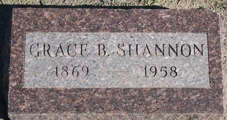 SHANNON, GRACE B. - Union County, South Dakota | GRACE B. SHANNON - South Dakota Gravestone Photos