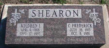 SHEARON, C. FREDERICK - Union County, South Dakota   C. FREDERICK SHEARON - South Dakota Gravestone Photos