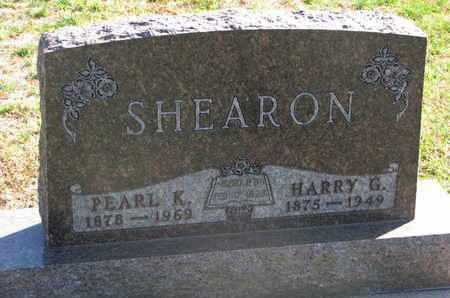 SHEARON, PEARL K. - Union County, South Dakota | PEARL K. SHEARON - South Dakota Gravestone Photos
