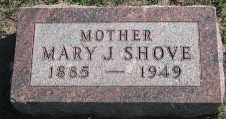 SHOVE, MARY J. - Union County, South Dakota | MARY J. SHOVE - South Dakota Gravestone Photos