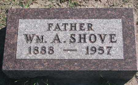 SHOVE, WILLIAM A. - Union County, South Dakota | WILLIAM A. SHOVE - South Dakota Gravestone Photos