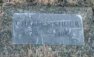 SHUCK, CHARLES - Union County, South Dakota   CHARLES SHUCK - South Dakota Gravestone Photos