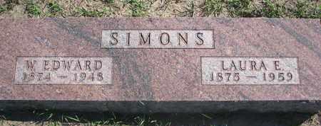 SIMONS, LAURA E. - Union County, South Dakota | LAURA E. SIMONS - South Dakota Gravestone Photos