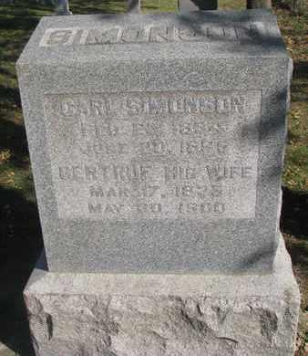 SIMONSON, CARL - Union County, South Dakota | CARL SIMONSON - South Dakota Gravestone Photos