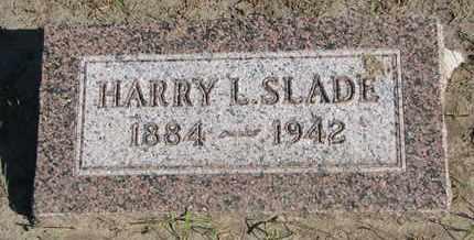 SLADE, HARRY L. - Union County, South Dakota | HARRY L. SLADE - South Dakota Gravestone Photos