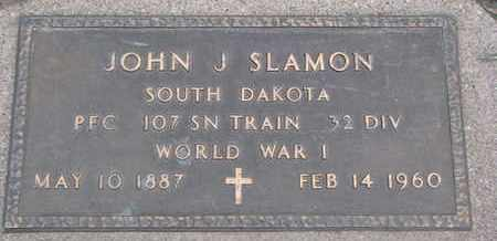 SLAMON, JOHN J. - Union County, South Dakota | JOHN J. SLAMON - South Dakota Gravestone Photos