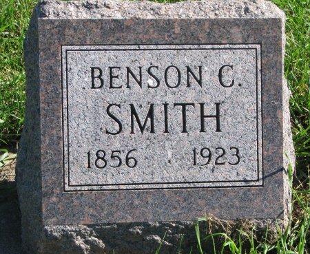 SMITH, BENSON C. - Union County, South Dakota | BENSON C. SMITH - South Dakota Gravestone Photos