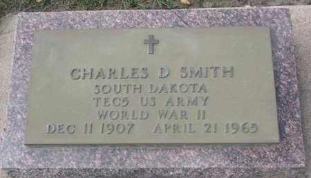 SMITH, CHARLES D. (WORLD WAR II) - Union County, South Dakota | CHARLES D. (WORLD WAR II) SMITH - South Dakota Gravestone Photos