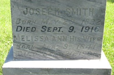 SMITH, MELISSA ANN (CLOSE UP) - Union County, South Dakota | MELISSA ANN (CLOSE UP) SMITH - South Dakota Gravestone Photos