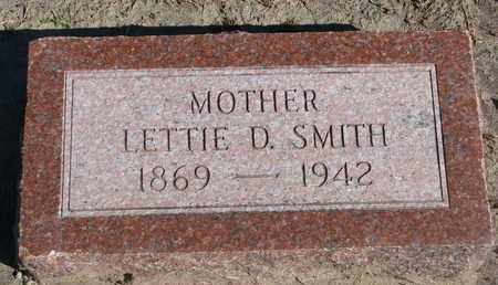 SMITH, LETTIE D. - Union County, South Dakota | LETTIE D. SMITH - South Dakota Gravestone Photos