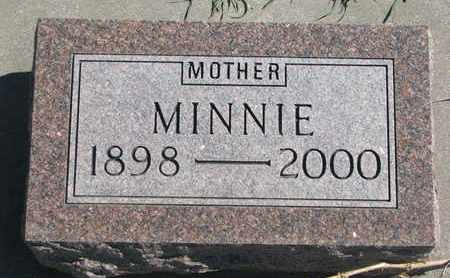 SMITH, MINNIE - Union County, South Dakota | MINNIE SMITH - South Dakota Gravestone Photos