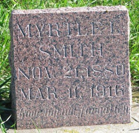SMITH, MYRTLE L. - Union County, South Dakota | MYRTLE L. SMITH - South Dakota Gravestone Photos