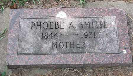 SMITH, PHOEBE A. - Union County, South Dakota   PHOEBE A. SMITH - South Dakota Gravestone Photos