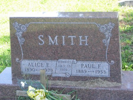 SMITH, ALICE E. - Union County, South Dakota | ALICE E. SMITH - South Dakota Gravestone Photos