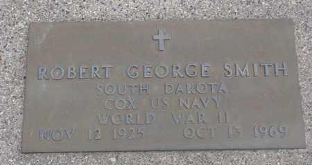SMITH, ROBERT GEORGE (WORLD WAR II) - Union County, South Dakota   ROBERT GEORGE (WORLD WAR II) SMITH - South Dakota Gravestone Photos
