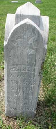 SMITH, SARAH - Union County, South Dakota | SARAH SMITH - South Dakota Gravestone Photos