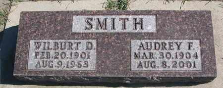 SMITH, AUDREY F. - Union County, South Dakota   AUDREY F. SMITH - South Dakota Gravestone Photos