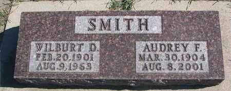 SMITH, AUDREY F. - Union County, South Dakota | AUDREY F. SMITH - South Dakota Gravestone Photos