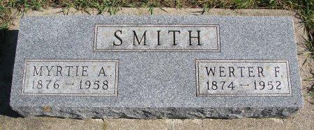 SMITH, MYRTIE A. - Union County, South Dakota | MYRTIE A. SMITH - South Dakota Gravestone Photos