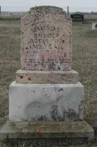 SNYDER, MALINDA - Union County, South Dakota | MALINDA SNYDER - South Dakota Gravestone Photos
