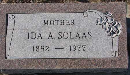 SOLASS, IDA A. - Union County, South Dakota | IDA A. SOLASS - South Dakota Gravestone Photos