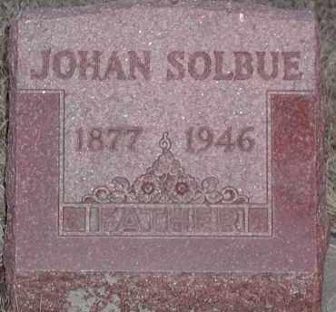 SOLBUE, JOHAN - Union County, South Dakota   JOHAN SOLBUE - South Dakota Gravestone Photos