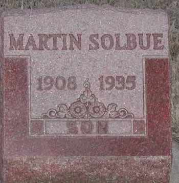 SOLBUE, MARTIN - Union County, South Dakota | MARTIN SOLBUE - South Dakota Gravestone Photos