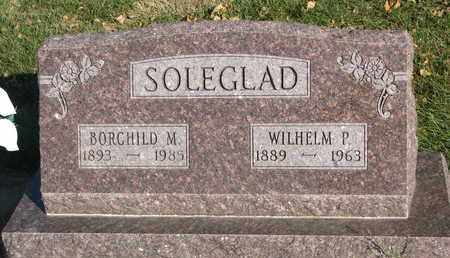 SOLEGLAD, WILHELM P. - Union County, South Dakota   WILHELM P. SOLEGLAD - South Dakota Gravestone Photos