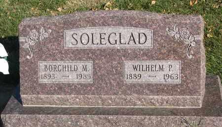 SOLEGLAD, WILHELM P. - Union County, South Dakota | WILHELM P. SOLEGLAD - South Dakota Gravestone Photos