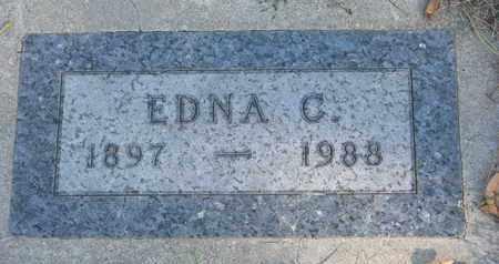 SOLEM, EDNA C. - Union County, South Dakota   EDNA C. SOLEM - South Dakota Gravestone Photos